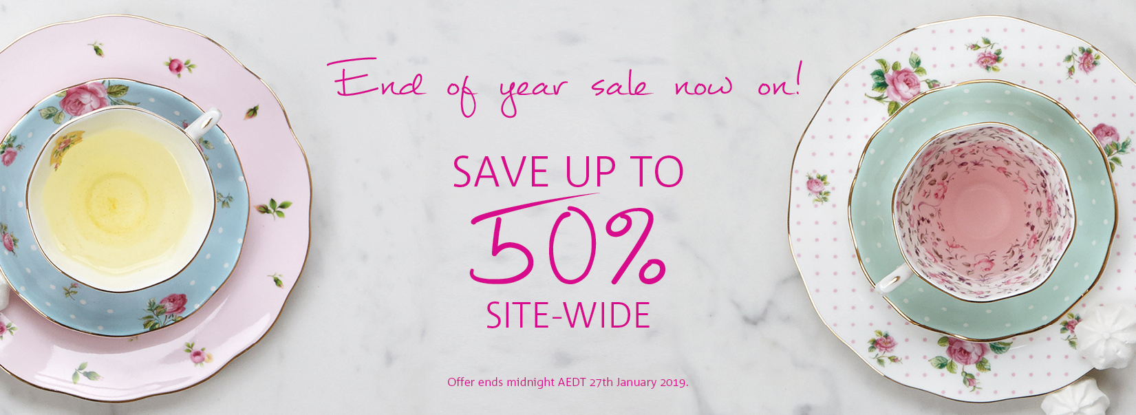 End of Year Sale Dec 18