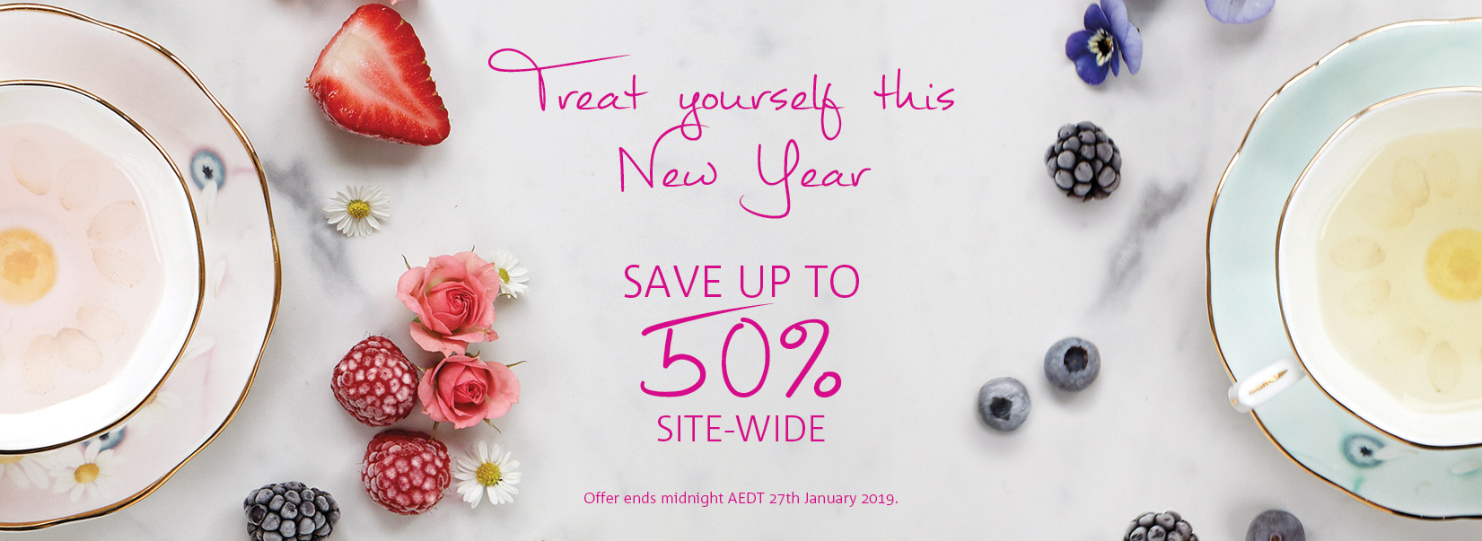 New Year Sale Jan 2019