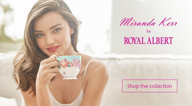 Miranda Kerr for Royal Albert Teaware