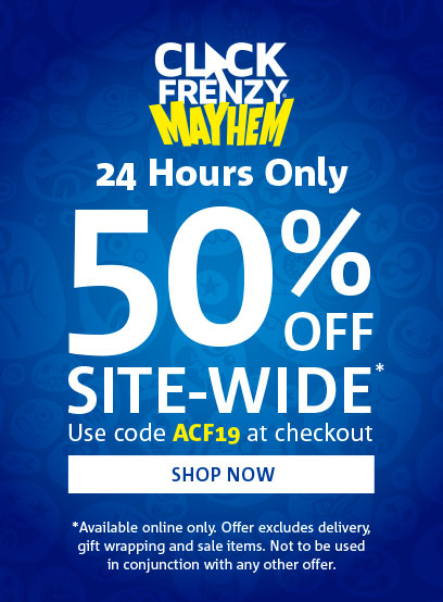 Click Frenzy Sale Now on