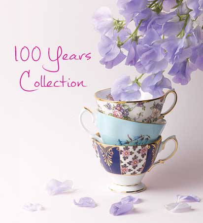 100 Years of Royal Albert Teaware Collection