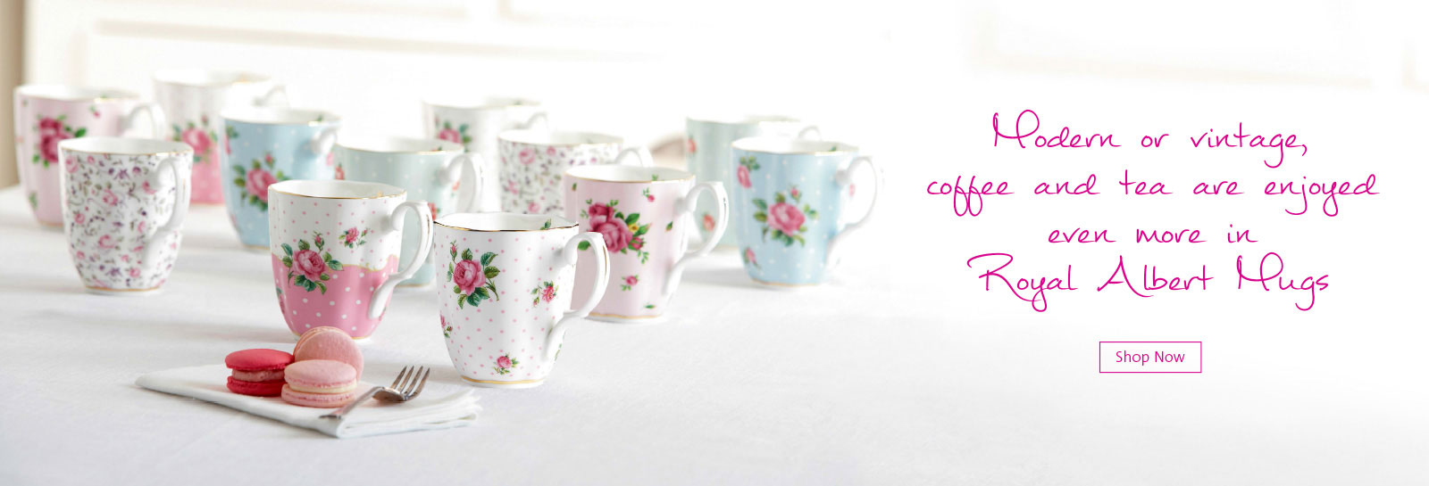 modern and vintage mugs - august