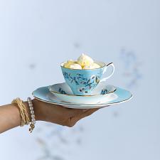 100 Years Teaware Teacup, Saucer, Plate 1950