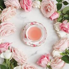 100 Years Teaware Teacup, Saucer, Plate 1980