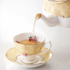 100 Years Teaware Teacup, Saucer, Plate 1990