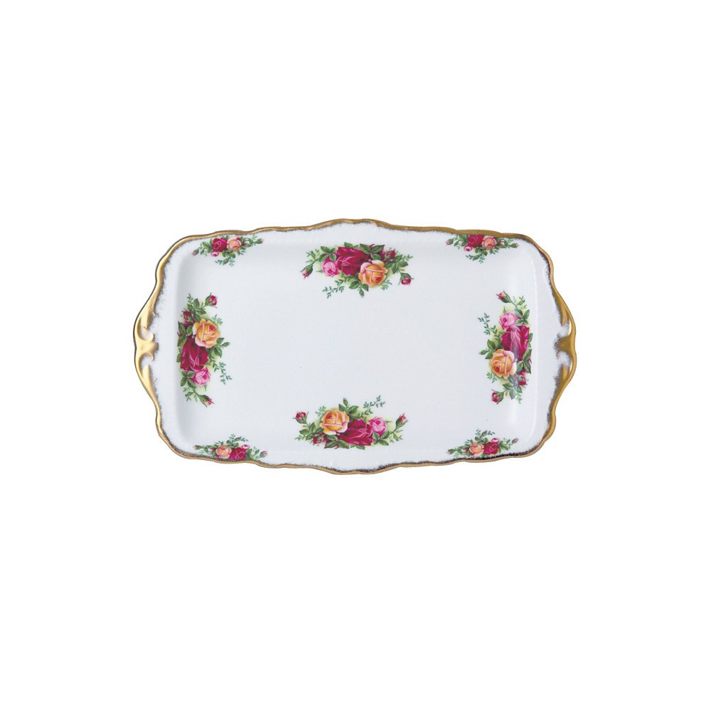 Old Country Roses Sandwich Tray