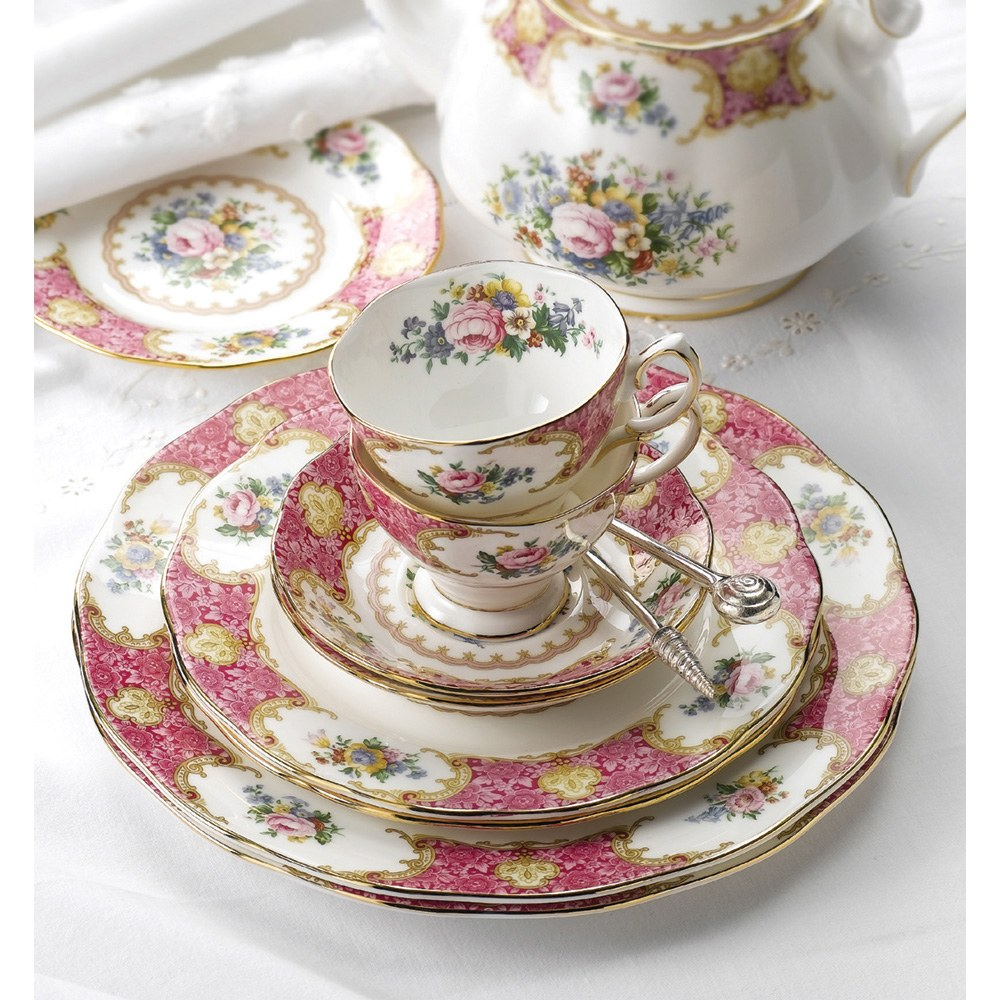 Royal Albert Lady Carlyle 11 Piece Teaset - Royal Albert ...