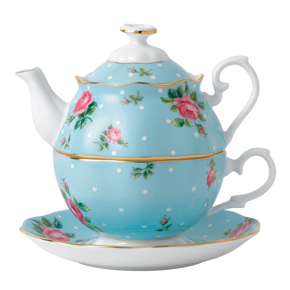 Tea For One Set : royal albert polka blue tea for one royal albert australia ~ Orissabook.com Haus und Dekorationen