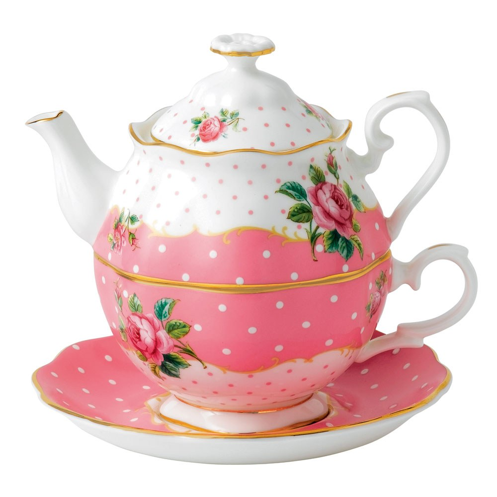 royal albert cheeky pink tea for one royal albert australia. Black Bedroom Furniture Sets. Home Design Ideas