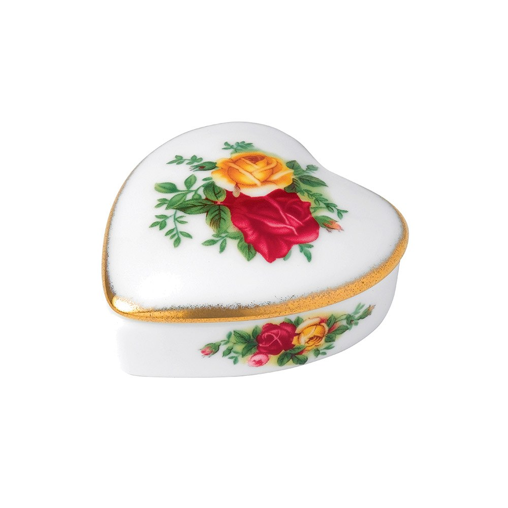 Old Country Roses Gorgeous Gifts Heart Box