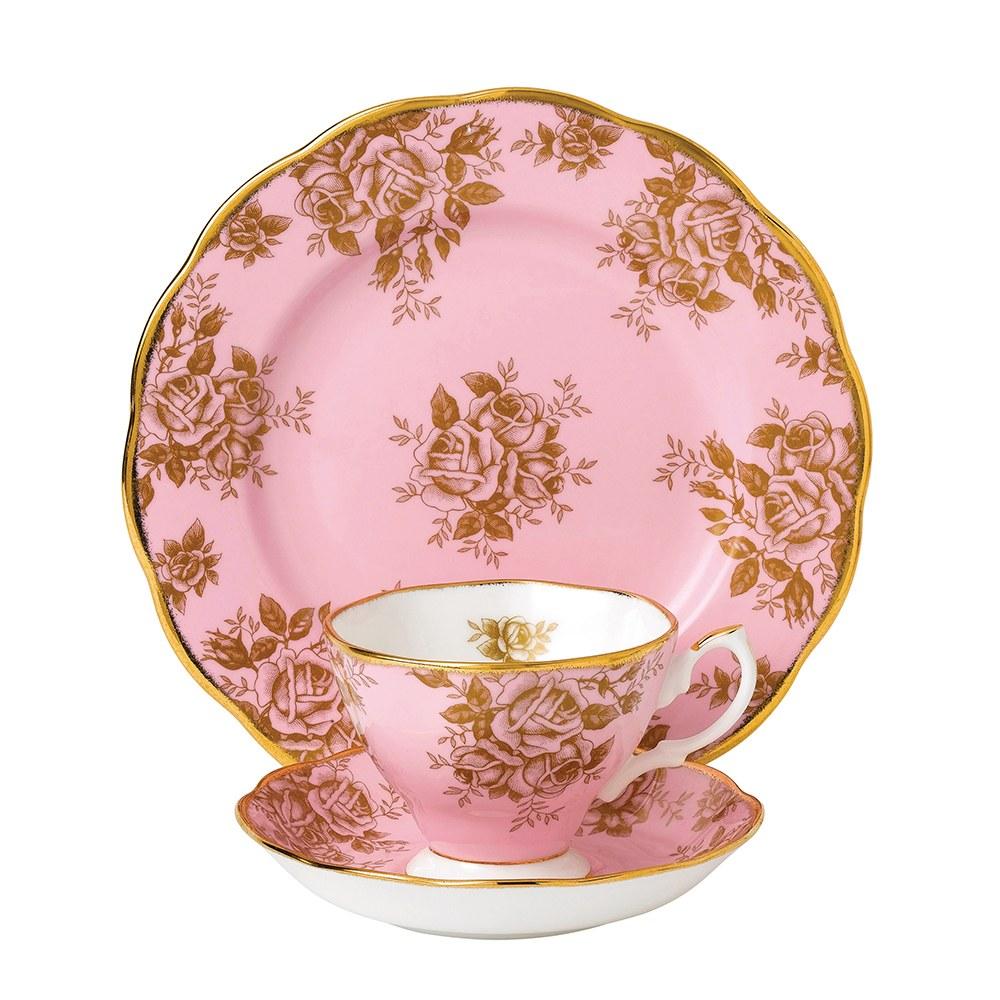 Royal Albert 100 Years Teaware Teacup Saucer Plate 1960