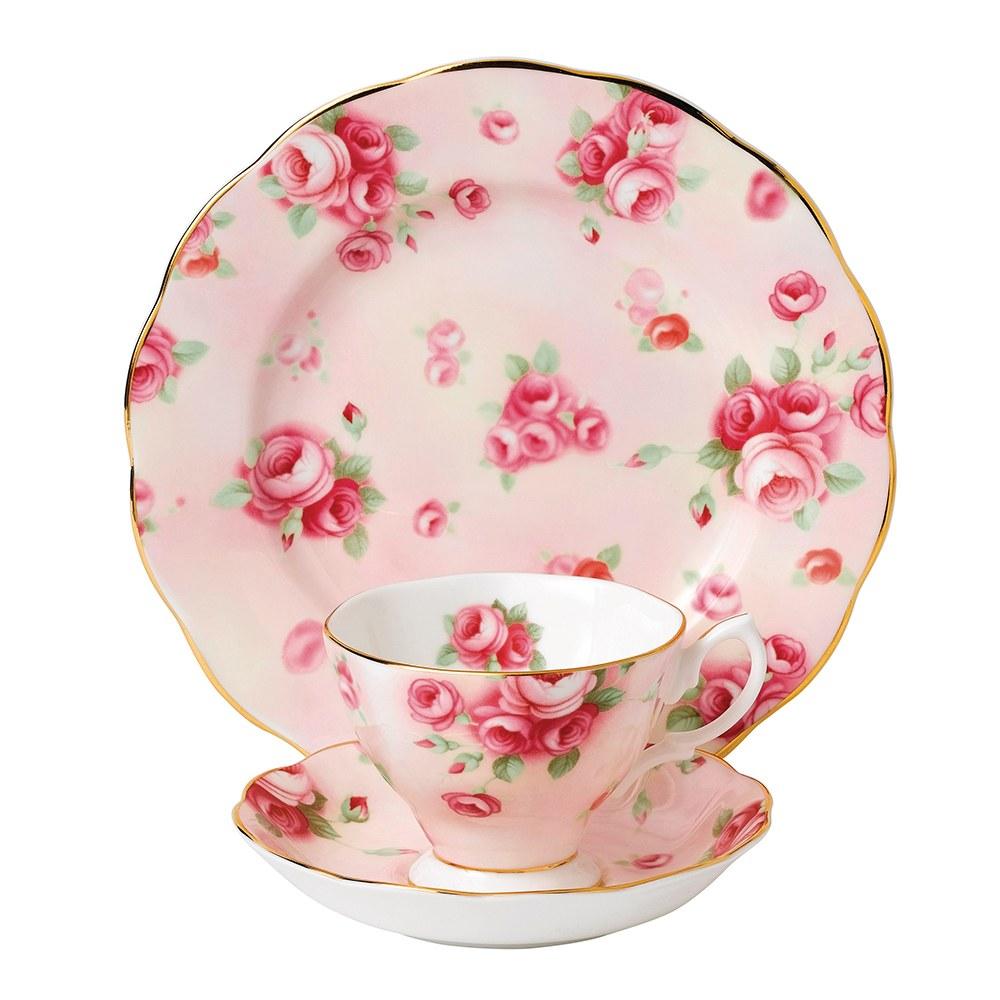 royal albert 100 years teaware teacup saucer plate 1980 royal albert australia. Black Bedroom Furniture Sets. Home Design Ideas