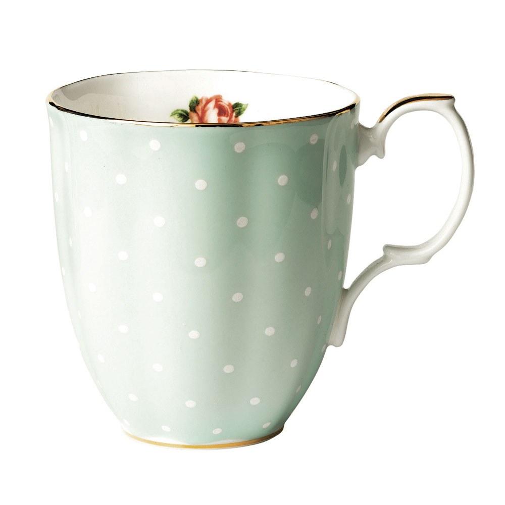 royal albert 100 years teaware mug 1930 39 s polka rose royal albert australia. Black Bedroom Furniture Sets. Home Design Ideas