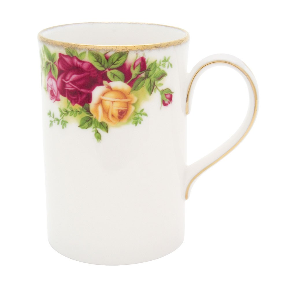 Old Country Roses Tall Bone Mug