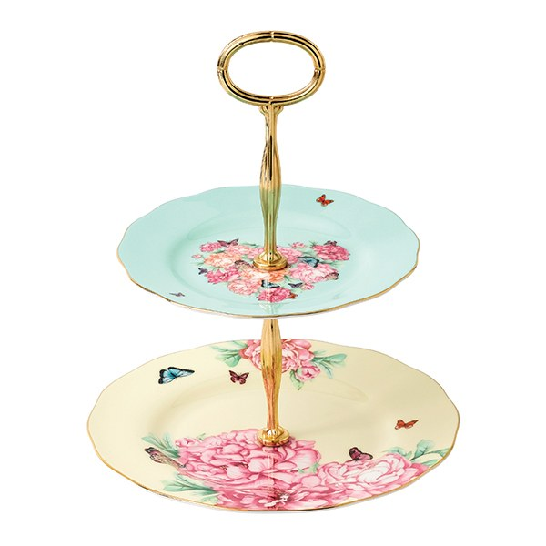 Miranda Kerr Blessings 2 Tier Cake Stand  sc 1 st  Royal Albert & Miranda Kerr for Royal Albert Blessings 2 Tier Cake Stand - Royal ...