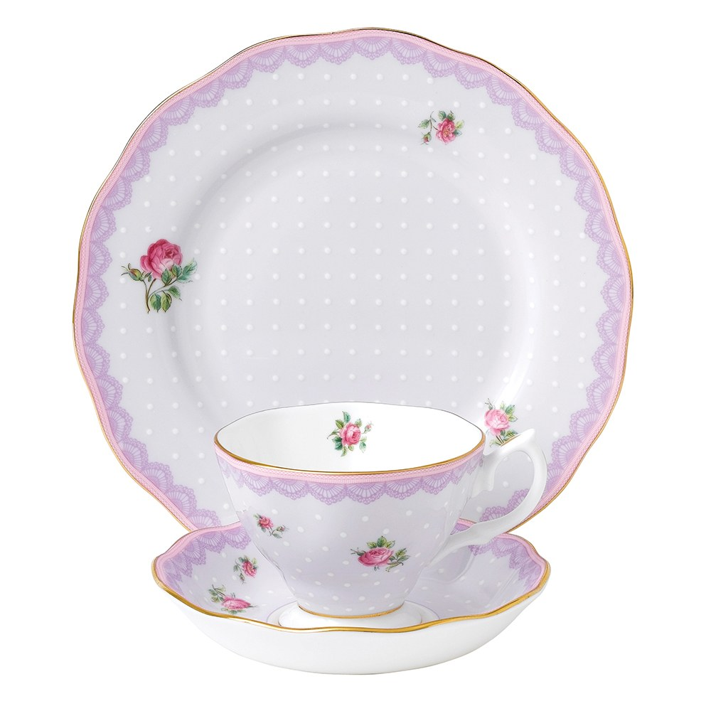 Candy Collection Love Lilac Teacup Saucer 20cm Plate Set  sc 1 st  Royal Albert & Royal Albert Candy Collection Love Lilac Teacup Saucer 20cm Plate ...