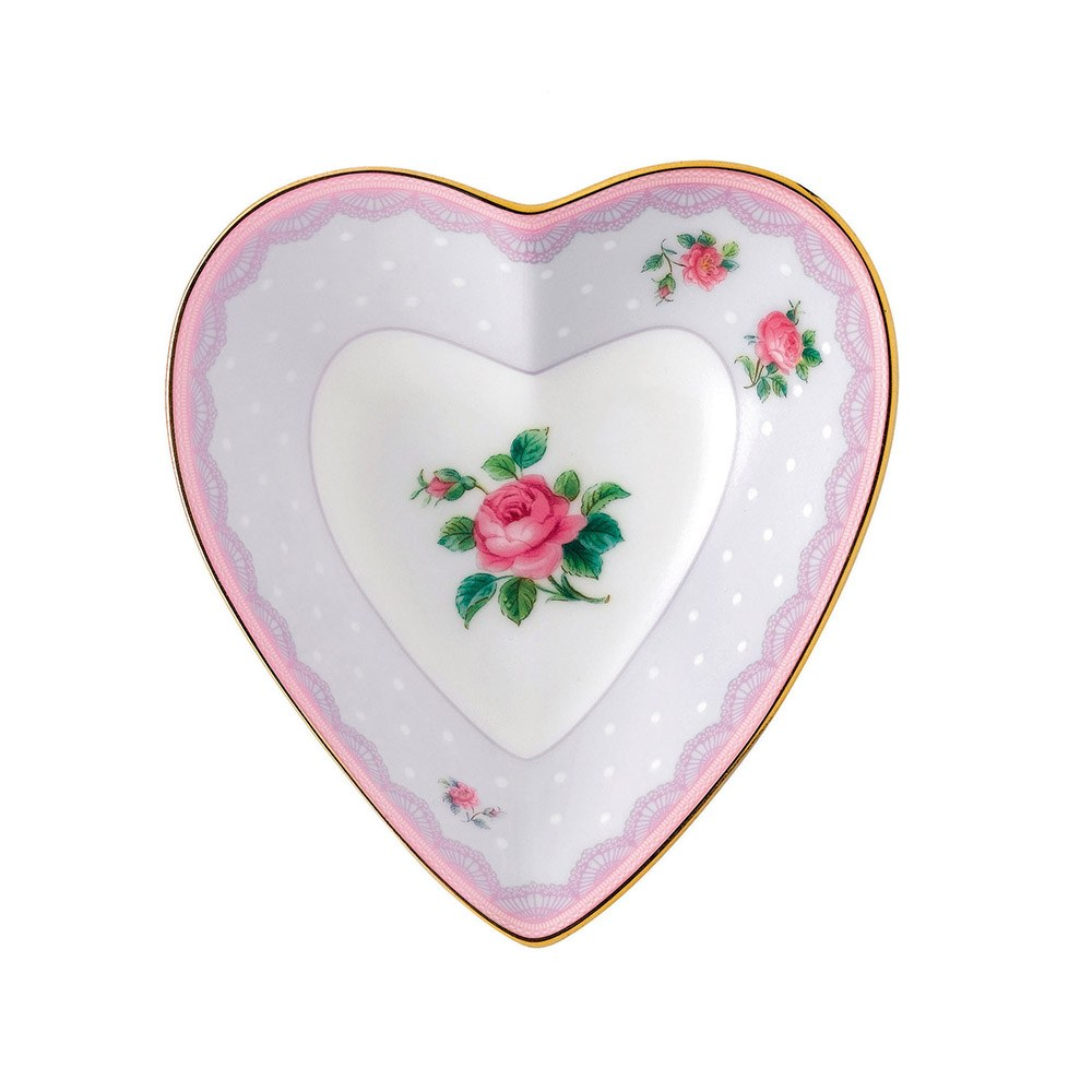 Candy Collection Love Lilac Heart Tray