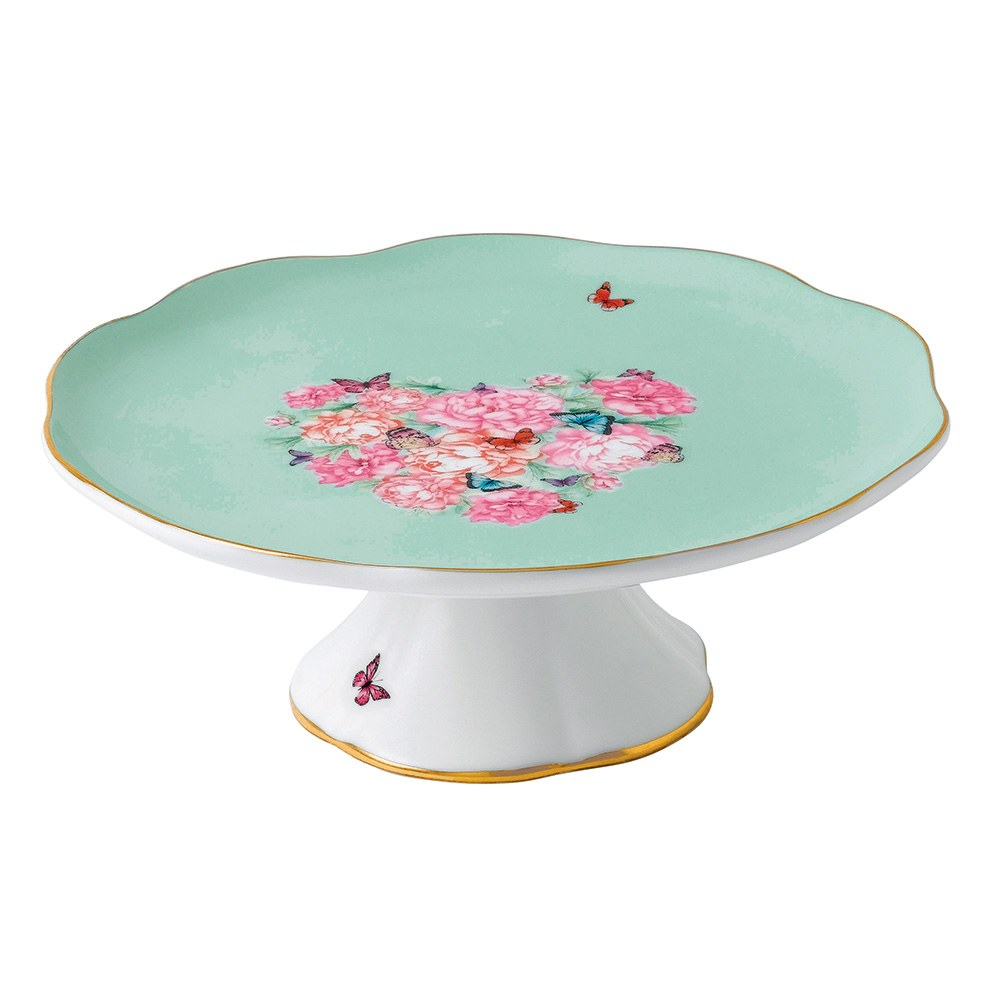 Miranda Kerr Cake Plate Small  sc 1 st  Royal Albert & Miranda Kerr for Royal Albert Cake Plate Small - Royal Albert® Australia