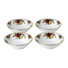 Old Country Roses Bowls Set of 4