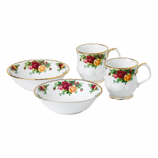 Old Country Roses Mug & Bowl Set of 4