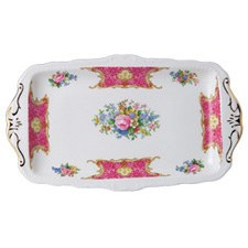 Royal Albert Lady Carlyle Sandwich Tray