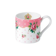 Royal Albert Cheeky Pink Modern Mug