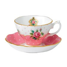 Royal Albert Cheeky Pink Teacup & Saucer