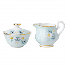 Alpha Foodie Sugar & Creamer Set Turquoise