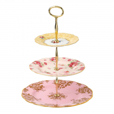 100 Years 3 Tier Cake Stand: 1960, 1980, 1990