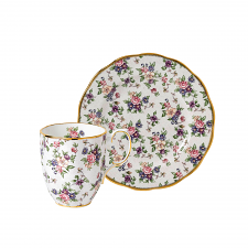 100 Years Teaware English Chintz Mug & Plate 20cm Set