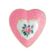 Royal Albert Interior Gift Cheeky Pink Heart Tray