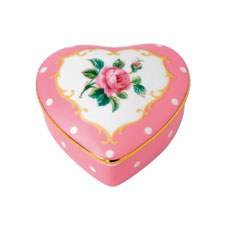 Royal Albert Interior Gift Cheeky Pink Small Heart Box