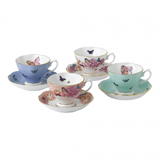 Miranda Kerr Friendship Teacups and Saucers, Set of 4