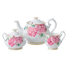 Miranda Kerr for Royal Albert Friendship Teapot, Cream, Sugar