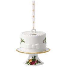 Royal Albert Old Country Roses Cake Ornament