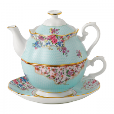 Royal Albert Candy Collection Sitting Pretty Tea For One