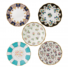 100 Years Teaware 5 Plates Set(00-40'S)