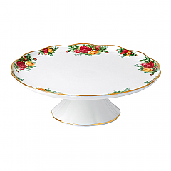 Old Country Roses Gorgeous Gifts Large Cake Stand