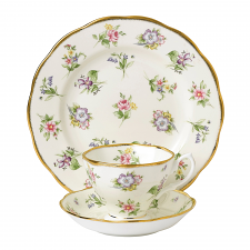 Royal Albert 100 Years Teaware Teacup, Saucer, Plate 1920