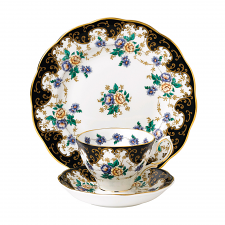 Royal Albert 100 Years Teaware Teacup, Saucer, Plate 1910