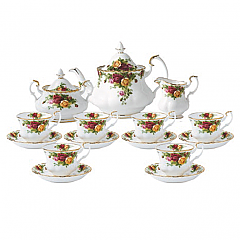 Royal Albert Old Country Roses 15 Piece Teaset