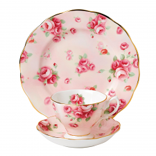 Royal Albert 100 Years Teaware Teacup, Saucer, Plate 1980