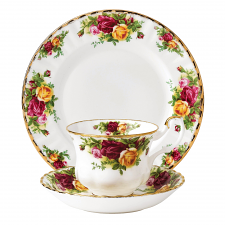 Royal Albert Old Country Roses Teacup, Saucer & Plate set