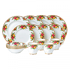 Old Country Roses 16 Piece Set