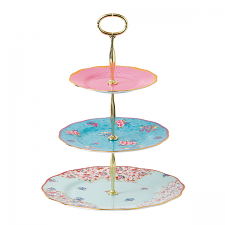 Candy Collection 3 Tiered Cake Stand