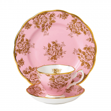 Royal Albert 100 Years Teaware Teacup, Saucer, Plate 1960