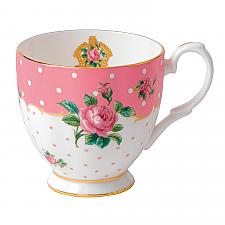 Cheeky Pink Vintage Mug Small