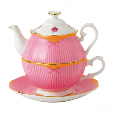 Royal Albert Candy Collection Sweet Stripe Tea For One