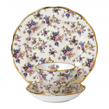 Royal Albert 100 Years Teaware Teacup, Saucer, Plate 1940