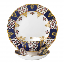 Royal Albert 100 Years Teaware Teacup, Saucer, Plate 1900